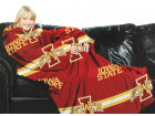 Iowa State Cyclones Comfy Throw Blanket Bed & Bath