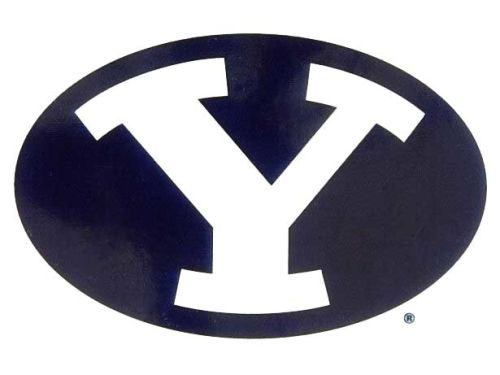 Brigham Young Cougars Rico Industries Static Cling Decal