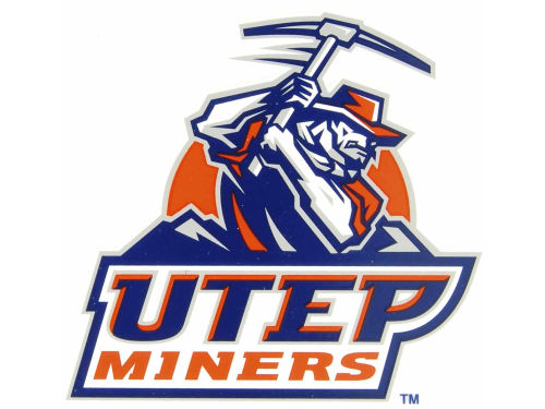UTEP Miners Rico Industries Static Cling Decal