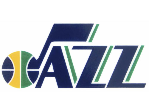 Utah Jazz Rico Industries Static Cling Decal