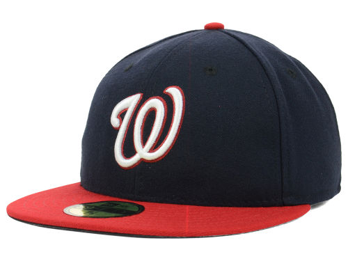 Washington Nationals New Era MLB Authentic Collection 59FIFTY Cap Hats