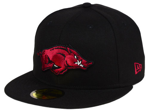 Arkansas Razorbacks New Era NCAA AC 59FIFTY Cap Hats