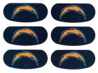 San Diego Chargers Team Eyeblack Strips Gameday & Tailgate