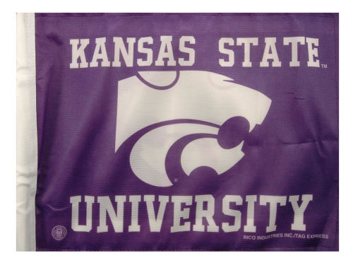 Kansas State Wildcats Rico Industries Car Flag
