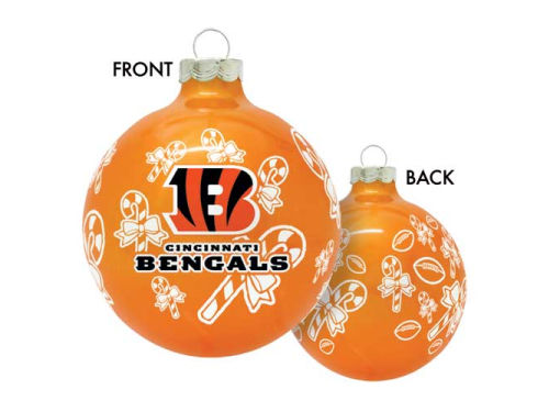 Cincinnati Bengals Traditional Round Ornament