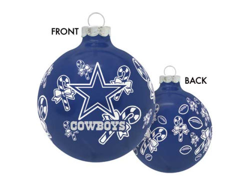 Dallas Cowboys Traditional Round Ornament