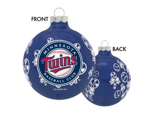 Minnesota Twins Traditional Round Ornament