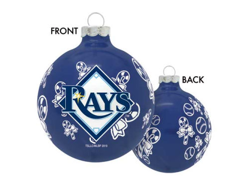 Tampa Bay Rays Traditional Round Ornament
