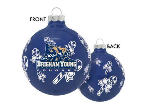 Brigham Young Cougars Traditional Round Ornament