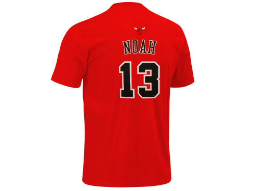 Chicago Bulls Joakim Noah adidas NBA Men's Player T-Shirt