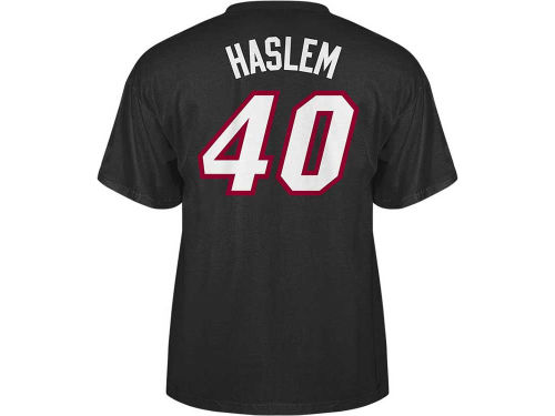 Miami Heat Udonis Haslem NBA Player T-Shirt