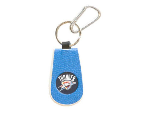 Oklahoma City Thunder Game Wear Team Color Keychains