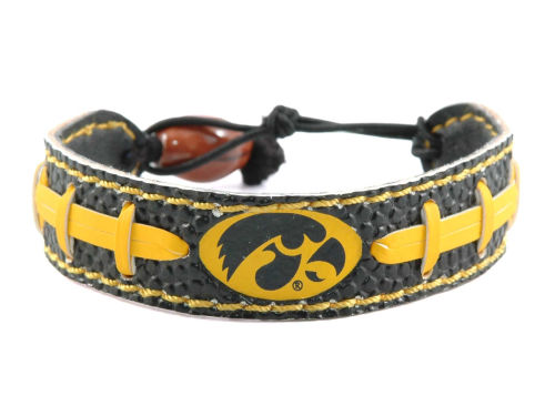 Iowa Hawkeyes Game Wear Team Color Football Bracelet