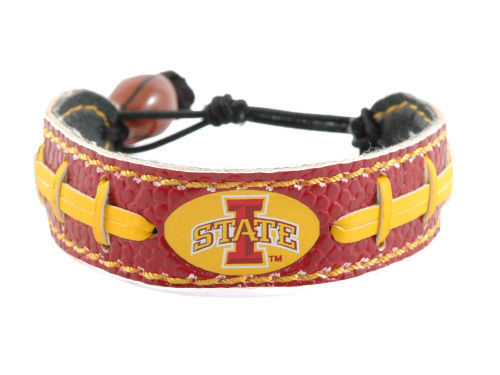 Iowa State Cyclones Game Wear Team Color Football Bracelet