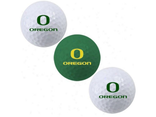 Oregon Ducks Team Golf 3pk Golf Ball Set