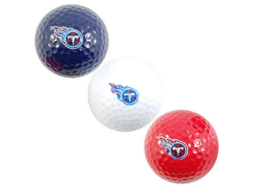 Tennessee Titans Team Golf 3pk Golf Ball Set