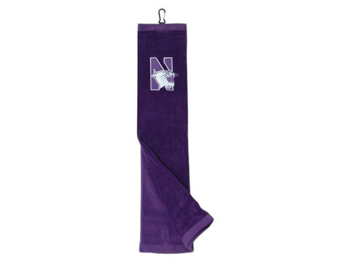 Northwestern Wildcats Team Golf Trifold Golf Towel