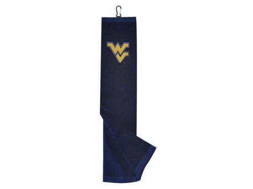 West Virginia Mountaineers Team Golf Trifold Golf Towel