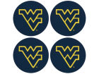 West Virginia Mountaineers 4pk Coaster Set Gameday & Tailgate