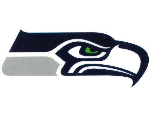 Seattle Seahawks Rico Industries Static Cling Decal