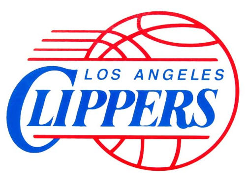 Los Angeles Clippers Rico Industries Static Cling Decal