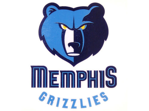 Memphis Grizzlies Rico Industries Static Cling Decal