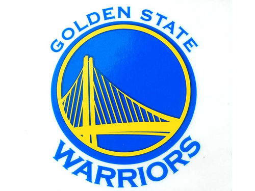 Golden State Warriors Rico Industries Static Cling Decal