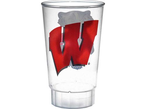 Wisconsin Badgers Hunter Manufacturing Single Plastic Tumbler