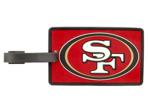 San Francisco 49ers Aminco Inc. Soft Bag Tag