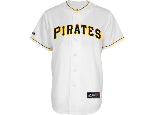 Pittsburgh Pirates Majestic MLB Blank Replica Jersey