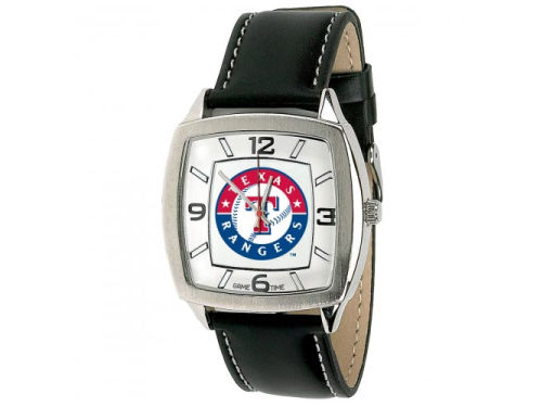Texas Rangers Retro Leather Watch