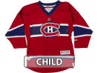 Montreal Canadiens Reebok NHL Kids Replica Jersey CN Jerseys