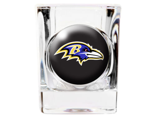 Baltimore Ravens 35mm Square Shotglass