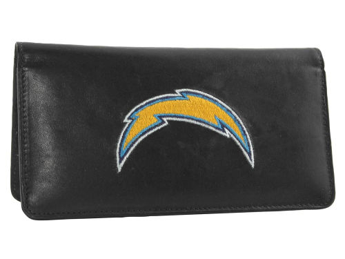 San Diego Chargers Rico Industries Black Checkbook Cover