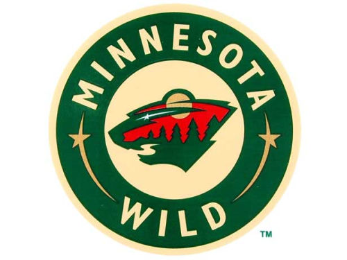 Minnesota Wild Rico Industries Static Cling Decal