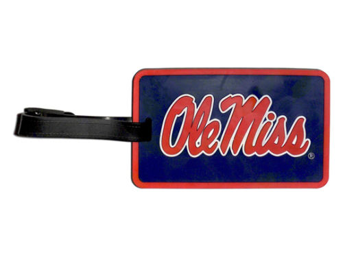 Mississippi Rebels Soft Bag Tag