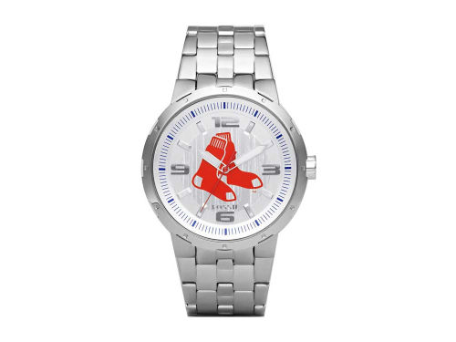 Boston Red Sox Pro III Silver Dial Watch