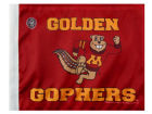 Minnesota Golden Gophers Rico Industries Car Flag Auto Accessories