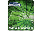 Seattle Seahawks 50x60in Plush Throw Blanket Bed & Bath