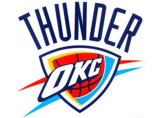 Oklahoma City Thunder Rico Industries Static Cling Decal