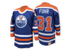 Edmonton Oilers Grant Fuhr Mitchell and Ness NHL Authentic Jersey Jerseys