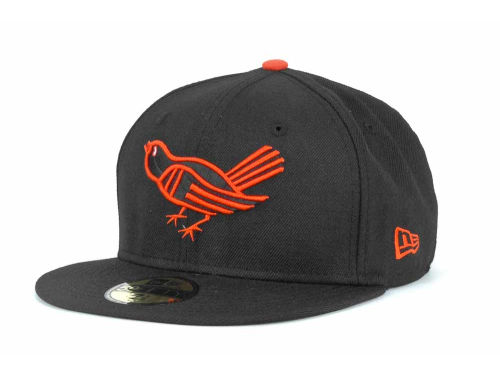 Baltimore Orioles New Era MLB Cooperstown 59FIFTY Cap Hats