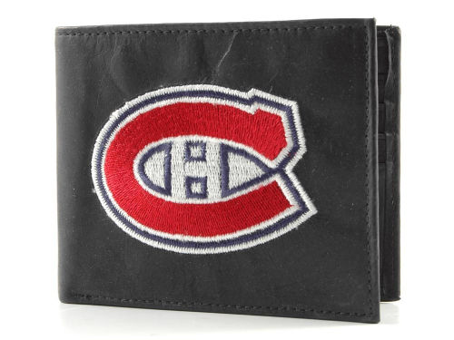 Montreal Canadiens Rico Industries Black Bifold Wallet
