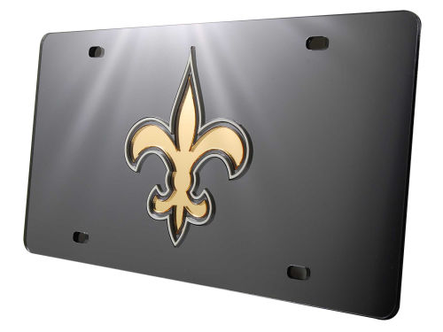 New Orleans Saints Rico Industries Acrylic Laser Tag