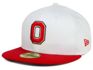 New Era NCAA White 2 Tone 59FIFTY Fitted Hats