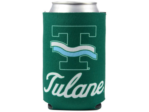 Tulane Green Wave Can Coozie