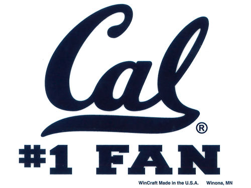 California Golden Bears Rico Industries Static Cling Decal
