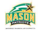 George Mason Patriots Rico Industries Static Cling Decal Auto Accessories