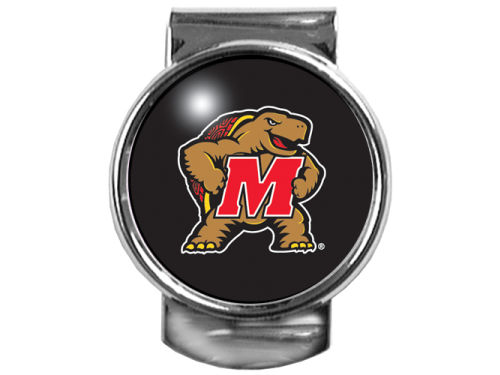 Maryland Terrapins Great American Products 35mm Money Clip