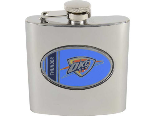 Oklahoma City Thunder Great American Products Hip Flask